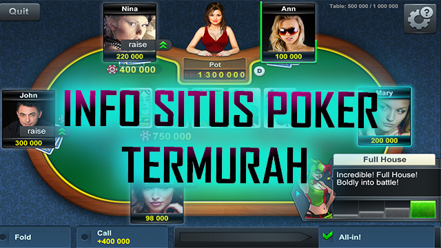 Tips Bermain Poker Online Server IDN Play